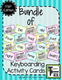 {Bundle} of Keyboarding Activity Cards - Fountas & Pinnell Edition