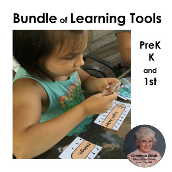 Bundle of Learning Tools for PreK and Kindergarten