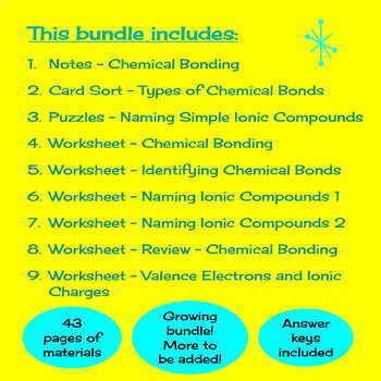 Identifying Chemical Compounds Worksheet Answers - Nidecmege