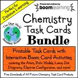 Distance Learning - Chemistry Task Cards Bundle - Printabl