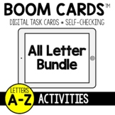 Bundle of Letters A-Z Activities BOOM CARDS™