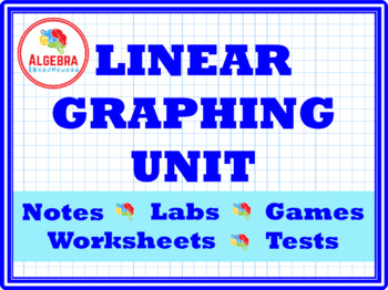 Bundle of Linear Graphing games, activities, and investigations