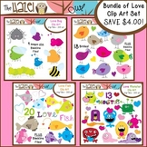 Bundle of Love Clip Art MEGA Pack {Save $4 by Purchasing 4