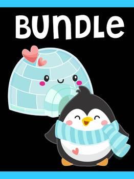 Bundle of MOONJU MAKERS - Cute Penguins of Winter