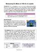 Bundle of Measurement Activities: Mass, Volume, and Length