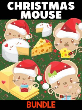 Christmas Mouse - Bundle of Moonju Makers, 5 Crafts, Winter Activities