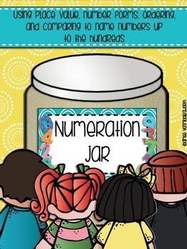 Bundle of Numeration Jar Up to Hundreds and Hundreds Thousands