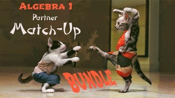 Bundle of Partner Worksheets: Match-Up Activities