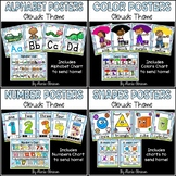 Bundle of Posters (SHAPES, COLORS, ALPHABET, and NUMBERS)