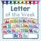 """Bundle of Preschool """"Letter of the Week"""" Units A-Z"""