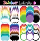 96 Rainbow Labels | BUNDLE