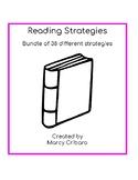 Bundle of Reading Strategies to be used with Kindergarten Readers