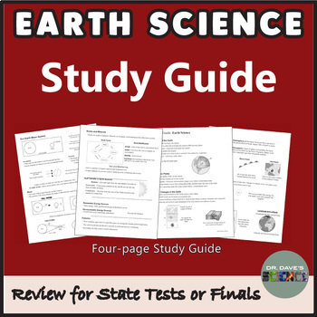 Bundle of Science Study Guides