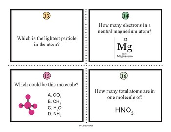 Bundle of Science Task Cards