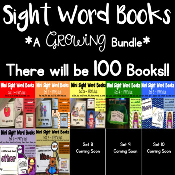 Bundle of Sight Word Books!