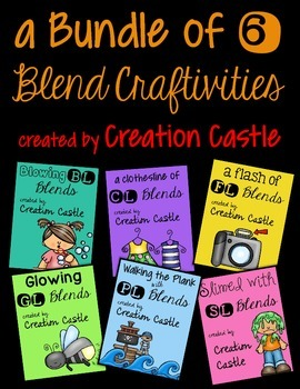 Bundle of Six L-Blend Craftivities