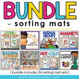 Bundle of Sorting Mats for Special Ed [ 24 Sorting Mat Set