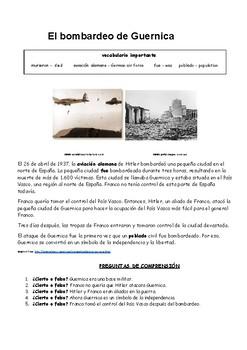 Bundle of Spanish Civil War Worksheets