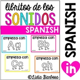 SPANISH BUNDLE Sounds Booklets {reading words}