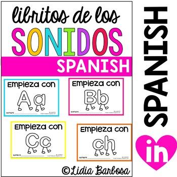 SPANISH BUNDLE Sounds Booklets {reading words}
