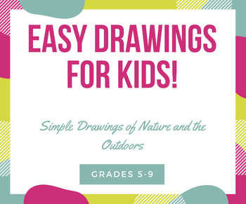 Collection Of Step By Step Drawings Of The Outdoors For Kids Printables