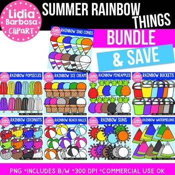 Bundle of Summer Rainbow Things