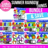 Bundle of Summer Rainbow Things