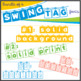 Bundle of Swing Tag Fonts - Mix and Match