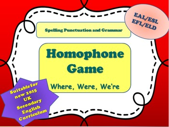 Bundle of Three - SPaG Learning Mat, Two Commonly Misused Homophone Games