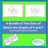 Bundle of Two Sizes of Match the Graphs of F and F'