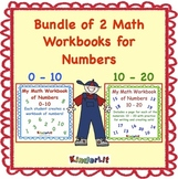 Bundle of Two Workbooks for Numbers