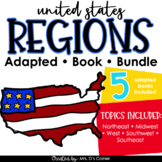 Bundle of US Regions Adapted Books [Level 1 and Level 2]