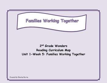 Bundle of Unit 1 Wonders Reading Curriculum Maps Weeks 1-6