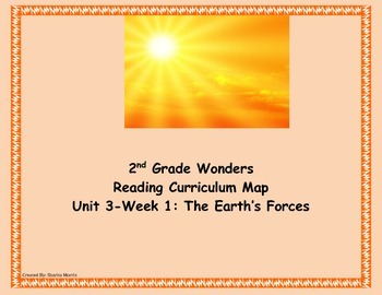 Bundle of Unit 3 Wonders Reading Curriculum Maps Weeks 1-6