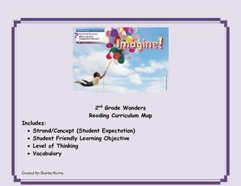 Bundle of Unit 6 Wonders Reading Curriculum Maps Weeks 1-6