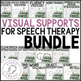 Bundle of Visual Supports for Speech and Language Therapy