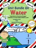 Water Unit Bundle - Water unit / Water Cycle / Water Scavenger Hunt