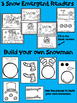 Winter Snow Emergent Readers {Snowman, Snow Day, Snow} Build a snowman