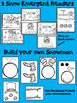 Winter Snow Emergent Readers {Snowman, Snow Day, Snow} Build a snowman