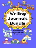 Bundle of Writing Journals for the whole year - 1st and 2n
