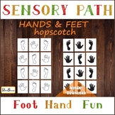 Bundle of hands & feet sensory paths, Activities for break