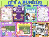 Bundle of math Printables Games Centers   GRADES 3 - 5