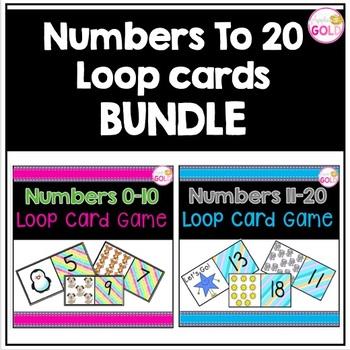 Bundle of numbers 0-20 Loop Card Games