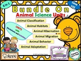 Bundle on Animal Science - Adaptations/Habitats/Behavior/Hibernation/Migration