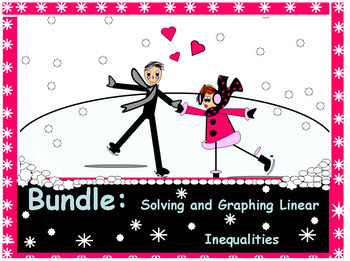 Bundle: Power Points over Solving and Graphing Linear Inequalities