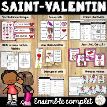 La Saint-Valentin - Ensemble - French Valentine's Day Bundle