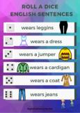 Bundle pack clothes vocabulary