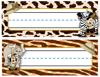 Bundle rutina Kindergarten Motivo Mickey Safari