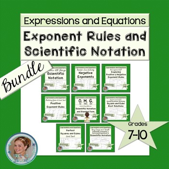 Exponent Rules and Scientific Notation