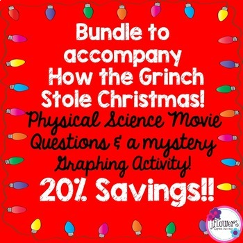 Christmas Science BUNDLE to accompany How the Grinch Stole Christmas